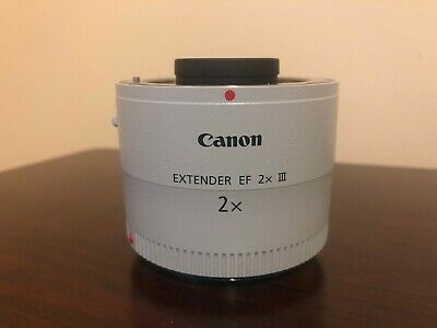 Used Canon Extender EF 2X III (AS-IS / For Parts) #605