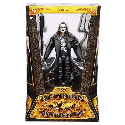 Wwe Mattel Series Defining Moments Sting Elite Brand New