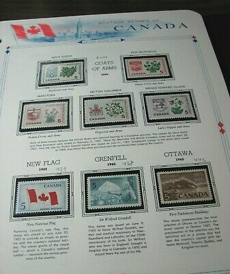 Canada Stamp Scott#   A204 Coats of Arms and etc.1965 MNH L332