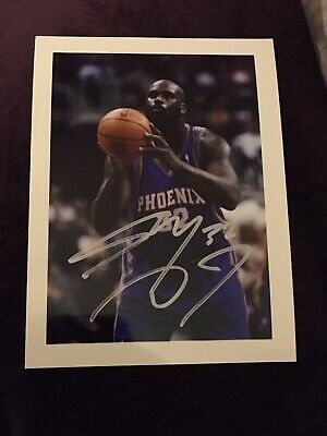 """Original SHAQUILLE O'NEAL Hand Signed Autograph Photo (approx 8x6"""") LA Lakers"""