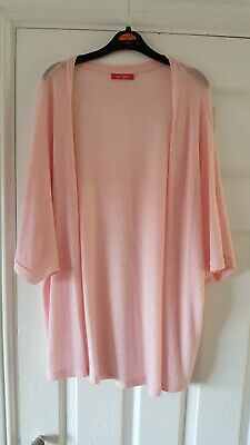 Girls Baby Pink Woollen Summer Kimono From YD At Primark Aged 12-13 Years
