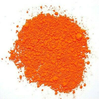 50g Deep Orange  Concentrated Food Colouring Powder Water Soluble Colour Color