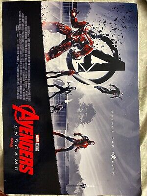 """AVENGERS ENDGAME AMC IMAX EXCLUSIVE POSTER 11"""" x 15.5"""" Week 1 Of 2"""