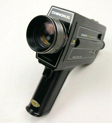 Chinon 723 XL Power Zoom Super 8 Cine movie Camera with Case