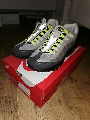Nike Air Max 95 Og Neon Mens Trainers Size Uk 7.5