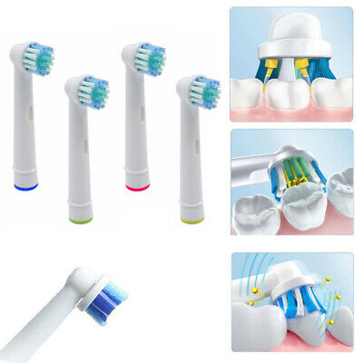 Electric Toothbrush Heads Compatible With Oral B Braun Toothbrush Head Models