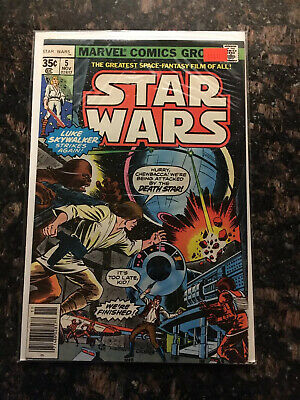 Marvel Comics Star Wars #5 1977