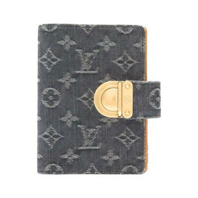 Authentic LOUIS VUITTON Monogram denim organizer PM R21038  #270-003-341-3911