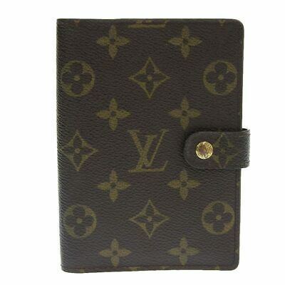 LOUIS VUITTON Monogram Agenda PM Notebook Cover R20005