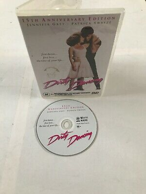 Dirty Dancing DVD Patrick Swayze Jennifer Grey 15TH ANNIVERSARY EDITION