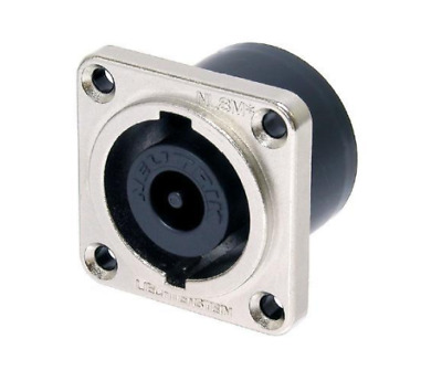 Speakon 8 pole chassis connector panel mount