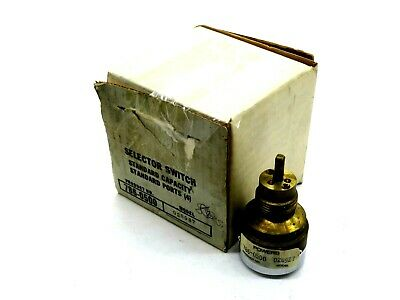 New Landis & Gyr Powers 028927 Selector Switch  786-0500