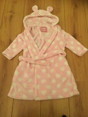 Girls Dressing Gown Age 5-6 Years From Primark