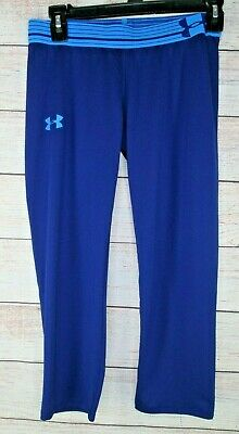 Under Armour 1259944 Girls Heat Gear Compression Capri Pants Youth XLarge XL