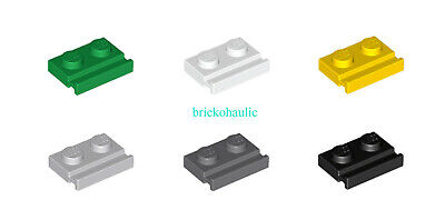 Lego Plate Modified 1 x 1 with Tooth Horizontal Parts Pieces Lot ALL COLORS