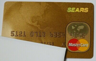 Expired in 03/2005 Sears National Bank Master Card Credit Card