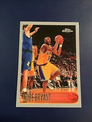 1996-1997 Topps Chrome # 138 KOBE BRYANT ROOKIE REPRINT Lakers RP REPRINT MINT