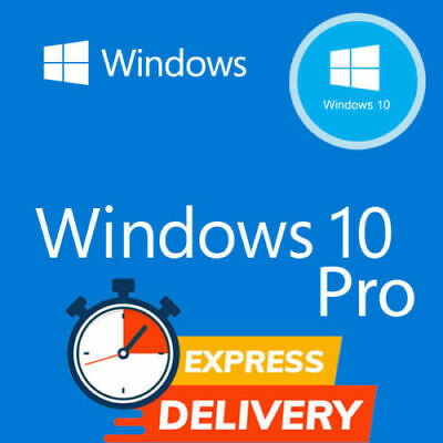 Microsoft windows 10 pro product key 2019 32/64 bit instant delivery 28 Second