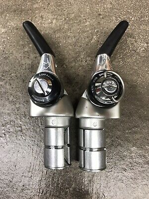 New Shimano Dura-Ace SL-BS77 2//3x9-Speed Bar End Shifter Set Lever Right//Left