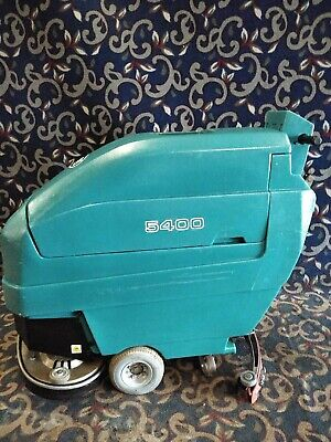 """Tennant 5400 24"""" walk behind floor scrubber with NEW batteries and FREE shipping"""