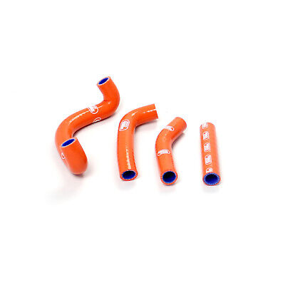 Samco Sport Silikon Schlauch Set Ktm 50SX 2009 - 2011 - Orange