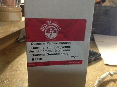 Old Holland Dammar Picture Varnish, 250 ml.