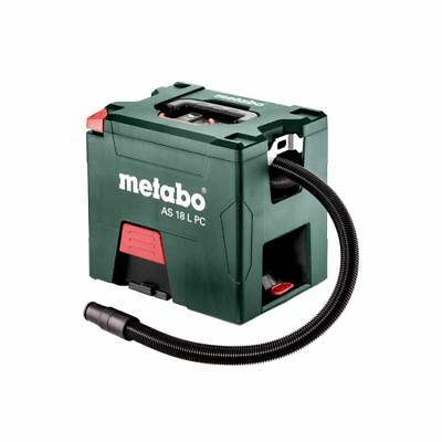 Metabo Vacuum Cleaner as 18 L PC without Battery Charger with Manual Filterre