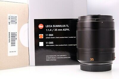 Leica Summilux-TL 35mm f1,4 in Mint Condition With Packaging
