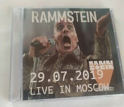 Rammstein Doppio CD Live In Moscow 29/07/2019