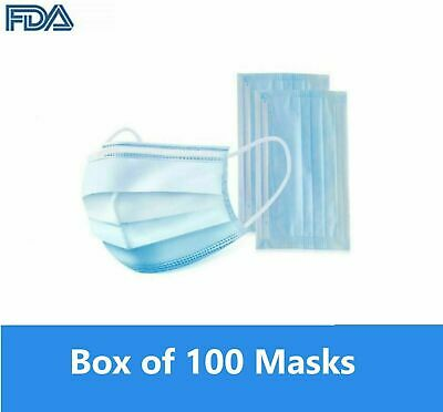 Disposable  Surgical Dental Nail Salon Dust Medical Face Mask | 3 PLY | F.S