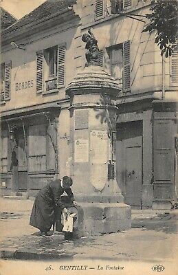 Cpa 94 Gentilly La Fontaine