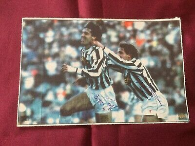 2 Autografi originali UDINESE CALCIO 88/89-Branca + de Vitis -IN PERSON