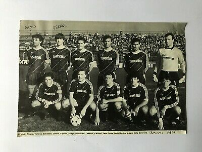 2 Autografi originali FC EMPOLI 86/87-Natale Picano+Claudio Vertova-IN PERSON