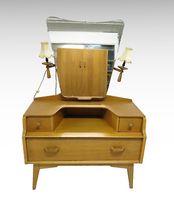 Vintage G plan dressing table with mirror #2530L