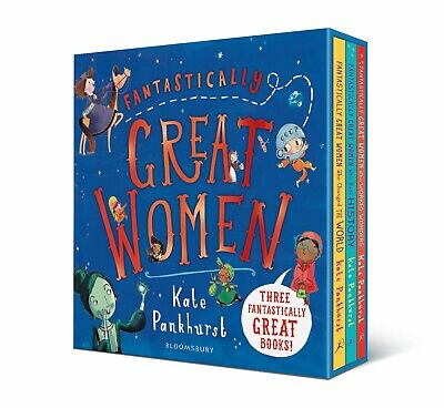 Fantastically Great Women 3 Book Collection Box Set (RRP £24)