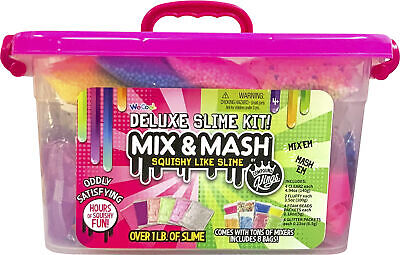 Compound Kings Mix & Mash Deluxe Slime Kit Caddy with Storage