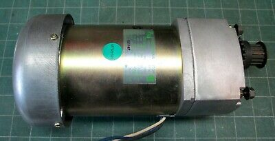 Gear motor - 74.15 rpm CW - 0.75A 40W - chain or toothed belt drive