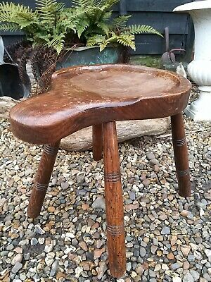 A Fantastic Elm Topped Cobblers Stool Country House
