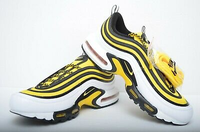 Nike Air Max Plus 97 Frequency Pack Tour Yellow Mens Shoes Av7936
