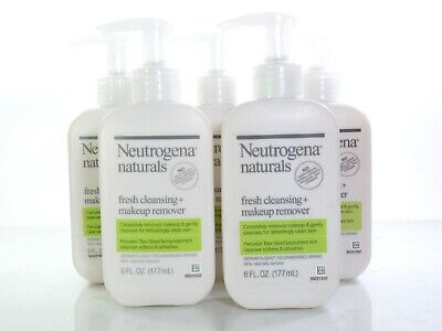 Neutrogena Naturals Fresh Cleansing + Makeup Remover 6 oz (Pack of 9)
