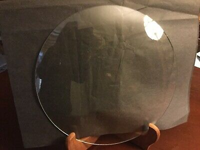 "Convex Round Replacement Glass Clear 8 15/16"" Diameter For Clock / Picture Frame"