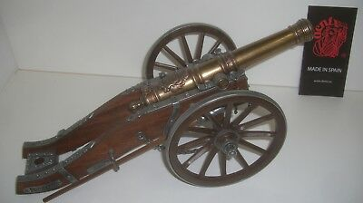 Miniature Cannon Louis XIV France 18th Century by Denix (pre-owned)