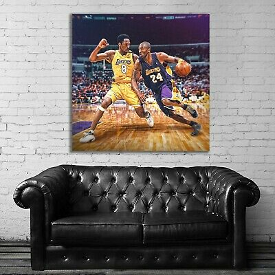 #53 Kobe Bryant Basketball Sport Athlete 40x40 inch More Sizes Large Poster