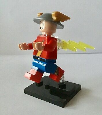 71026 LEGO MINIFIGURES SERIES DC SUPER HEROES JAY GARRICK FLASH (Nuovo)