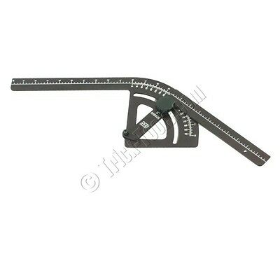"""Mittler Brothers 5"""" inch Radius Bend Protractor"""