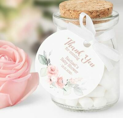 Luxury Baby Shower Prosecco Tags X 10 Personalised