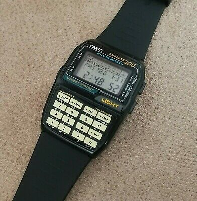 VINTAGE CASIO TELEMEMO 30 Data Bank Men's watch + new Casio  MtXzu