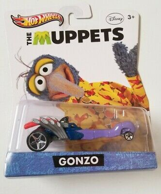 HOT WHEELS ENTERTAINMENT THE MUPPETS DC NEW 1//64 SEALED CASE F 12CT Y0758-999F