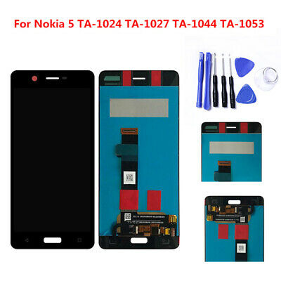 Dual Sim LCD Display Touch Screen Digitizer Assembly Replace For Nokia 5