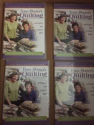 Fons & Porter's Love of Quilting DVD Collection